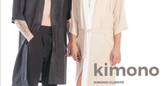 Kimono proteggi cliente.   Ottimo per il periodo.  Evita l'ingombro dei rif…